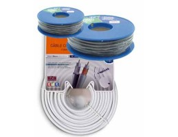 CABO COAXIAL ROLO 25m